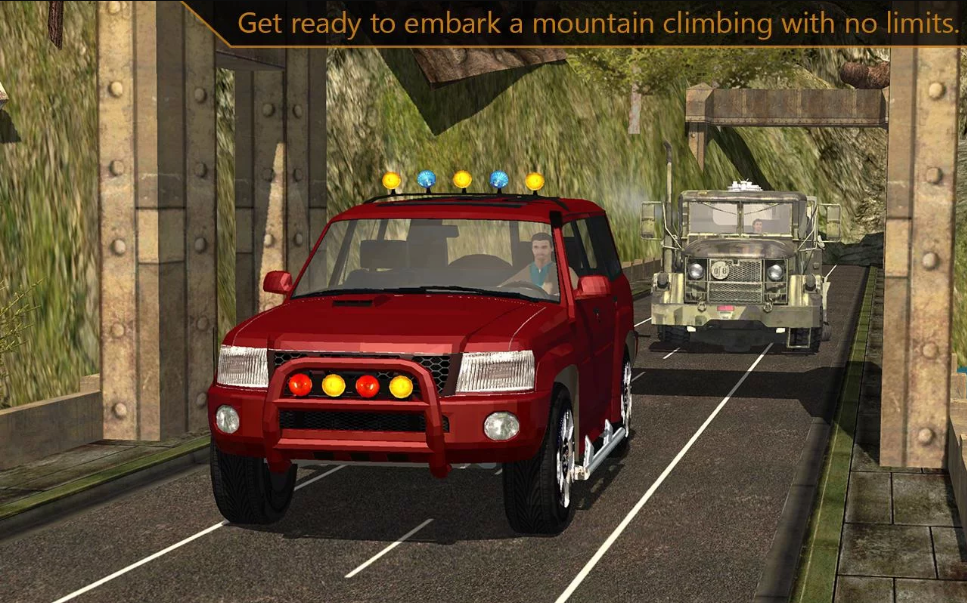 Offroad Jeep mountain climb 3d – Download for Android Free