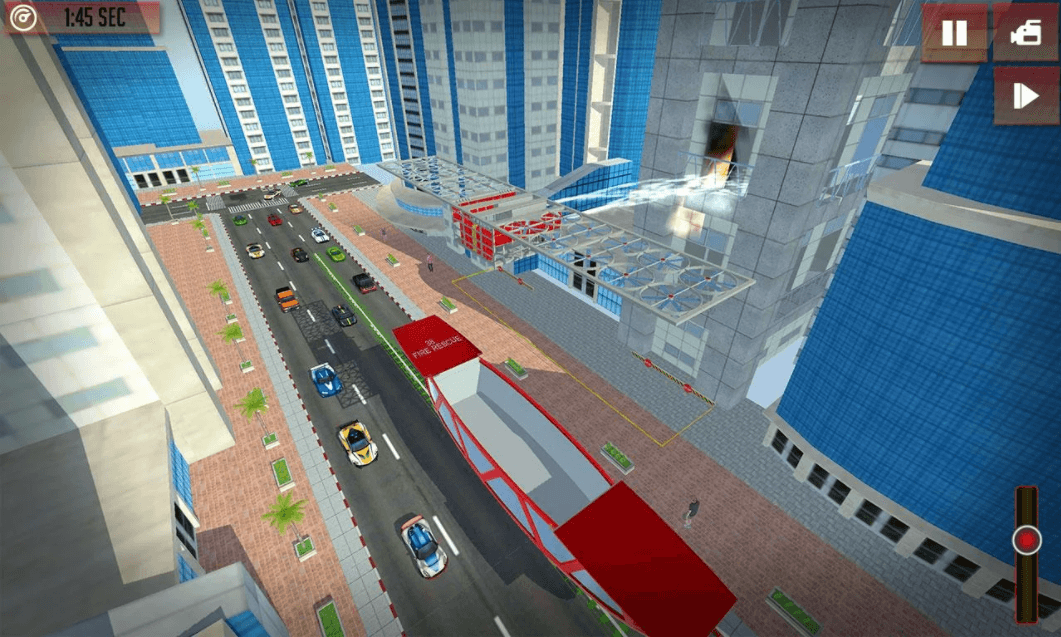 Future Gyroscopic Firetruck